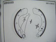 Vauxhall astra/Corsa/tigra rear brake shoes (mbs555) (91 - 00)