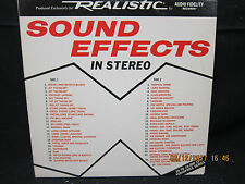 Sound Effects in Stereo - Produced for Realistic by Audio Fidelity