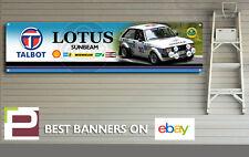 Talbot Lotus Sunbeam Banner para taller, garaje, Pit Lane, Hill Climb, Rally