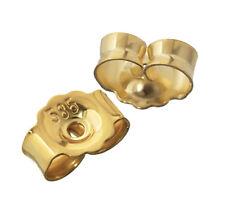 1Paar 585 Gelbgold Gegenstecker Ohrstecker Ohrstopper Loch 0,8mm Ohrmutter 4822