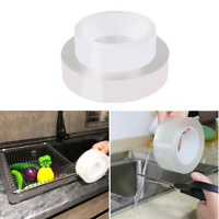 Kitchen Bathroom Waterproof Sealing Tape Mildew Proof Adhesive Transparent Tape