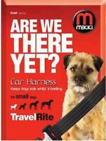 Mikki Travel & Household Car Harness ONLY Travelling Small Red and Black #11R405