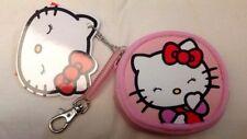 Hello Kitty - Sanrio - Portamonete oggetti 8cm Gancio Molla Rosa - Cartorama
