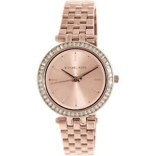 Michael Kors Business Analog Ladies Rose Gold Watch MK3366