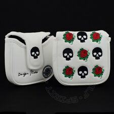 Skull Rose Head Cover for TaylorMade Ghost Spider & OS Rossa Monza Mallet Putter
