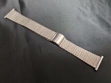 Wristwatch Vintage Original Band 22mm Stainless Steel Japan