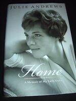 Home : A Memoir of My Early Years by Julie Andrews (2008, Hardcover) 1st ED.