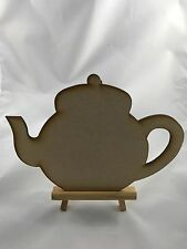 3mm MDF 2 x Teapots