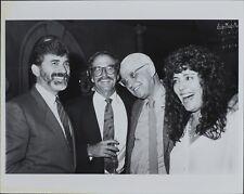 George Christy (Reporter), Richard Weston, Jeff Benson, Melinda Mason Photo