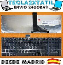 TECLADO TOSHIBA SATELLITE C855-10X C855-10Z C855-111 C855-112 ESPAÑOL CON MARCO