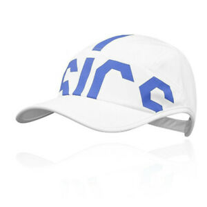 Asics Unisex Training Gym Fitness Running Cap Blue White Sports Breathable