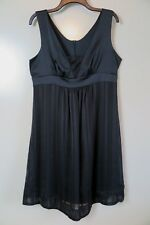NWT Ripe Limited Maternity Black Evening Cocktail Dress Size L
