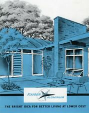 Kaiser Aluminum Windows & Doors Sales Brochure 1950's