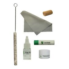 Flute Care Kit, Key Oil, Swab, Cleaning Swab, Cork Grease, Head Cork, Polish