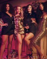 Women Sexy Slim Pleated Dress Lady Bodycon Nightclub One Shoulder Party Dresses