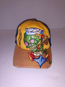 Ed Hardy By Christian Audigier Men's Mesh Truckers Adjustable Snapback Cap/Hat
