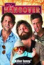 THE HANGOVER Movie POSTER 27x40 B Bradley Cooper Ed Helms Zach Galifianakis