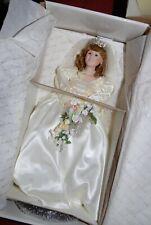 The Princess Sarah Bride Doll Danbury Mint Nib