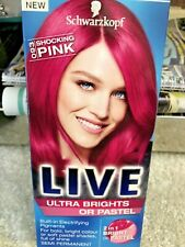 Live XXL Shocking Pink 1 Number 93 Hair Semi Permanent Dye New Schwarzkopf