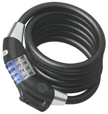 Abus 1400/185 Series 12mmx185cm Raydo Illuminated Combination Cable Bike Bicycle