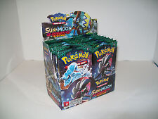 Pokemon Sun & Moon Guardians Rising Booster Pack x2