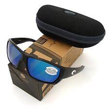 Costa Del Mar Tuna Alley Black & Blue Mirror 580 Glass NEW 580G