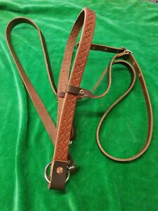 Heavy Leather Horse Head Tie Down