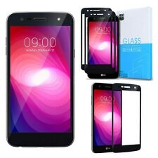 Exact For LG X Power 2 Tempered Glass Shockproof Screen Protector [2-Pack] Black
