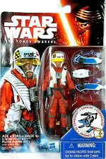 Star Wars Force Awakens X-Wing Pilot Asty Snow Mission Wave 2