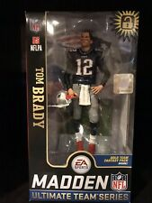 Tom Brady Figure New England Patriots EA Sports Madden Blue Shirt Mcfarlane