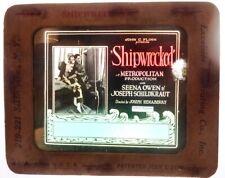 """Vintage Movie Slide: """"Shipwrecked"""""""