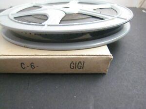 Vintage 8mm film,box..200 ft. reel...1950s...b/w...Gigi