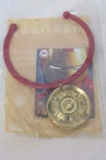 Burger King Kid's Meal Toy 2010 Iron Man 2  Iron Man Necklace New
