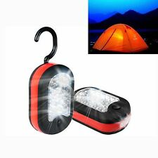 24+3 LED Magnet Outdoor Flashlight Lantern Hook Camping Tent Hiking Light Lamp