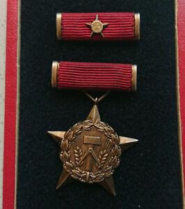 Org.DDR Auszeichnung,,Held der Arbeit ,, 900er Silber ohne Verleihungsnummer