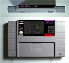 Shin Megami Tensei English SNES Super Nintendo USA version Reproduction Cart RPG