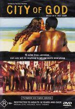 CITY of GOD (Alexandre RODRIGUEZ Leandro FIRMINO) True Story Film DVD Region 4