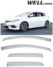 For 2016-Up Toyota Corolla iM Scion iM Clip-On WellVisors Side Window Visors