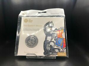 2020 Brilliant Uncirculated The White Horse of Hanover UK £5 Five Pounds