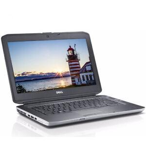 "Dell Laptop Computer Latitude 15.6"" Core i5 4GB RAM 320GB Windows 10 DVD WIFI"