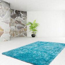 Tapis bleu rectangulaire pour la maison, 200 cm x 290 cm