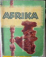 """Sammelalbum - Magarine / Sanella Album  """"AFRIKA"""" ( 1950 vollständig )"""