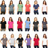 Bella + Canvas - Women's T-Shirt Relaxed Short Sleeve Jersey V-Neck Tee. 6405