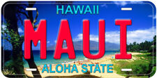 Maui Hawaii Aluminum Novelty Car License Plate