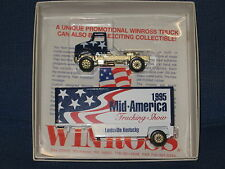 WINROSS 1/64  1995 MID AMERICAN TRUCK  SHOW TRACTOR AND TRAILER *