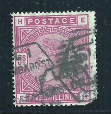 Great Britain Scott #108, Single 1884 FVF Used ***SHORT CORNER***
