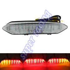 Turn Signals Tail Light Brake LED Light For Yamaha YZF R1 2002-2003 Clear