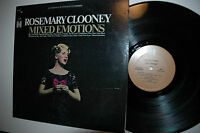 "33RPM Jazz Vinyl Rosemary Clooney ""MIXED EMOTIONS"" Harmony HS11254  010813LAE"
