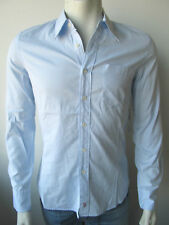 Juicy Couture Herren Blue Shirting Shirt Hemd Blau S