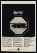 1965 MG Convertible Sports Car - The Octagon Spirit - VINTAGE AD